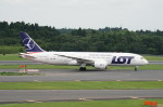 pringlesさんが、成田国際空港で撮影したLOTポーランド航空 787-8 Dreamlinerの航空フォト(写真)