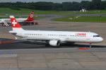 りんたろうさんが、ハンブルク空港で撮影したスイスインターナショナルエアラインズ A321-111の航空フォト(写真)