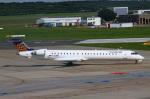 りんたろうさんが、ハンブルク空港で撮影したユーロウイングス CL-600-2D24 Regional Jet CRJ-900LRの航空フォト(写真)