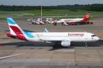 りんたろうさんが、ハンブルク空港で撮影したユーロウイングス A320-214の航空フォト(写真)