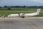 ゆういちさんが、鹿児島空港で撮影した日本エアコミューター DHC-8-402Q Dash 8の航空フォト(写真)