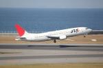 職業旅人さんが、中部国際空港で撮影した日本トランスオーシャン航空 737-4K5の航空フォト(写真)