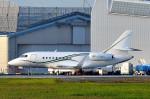 トロピカルさんが、成田国際空港で撮影したダッソー・ファルコン Falcon 2000の航空フォト(写真)
