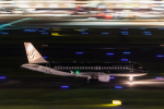岡崎美合さんが、羽田空港で撮影したスターフライヤー A320-214の航空フォト(写真)