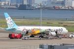なぽーぱいさんが、羽田空港で撮影したAIR DO 767-381の航空フォト(写真)
