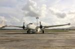 とらとらさんが、シントラ航空基地で撮影したポルトガル空軍 P2V-5F (P-2E) Neptuneの航空フォト(写真)