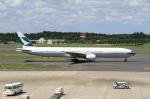 なしさんが、成田国際空港で撮影したキャセイパシフィック航空 777-367の航空フォト(写真)