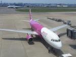 TopGunさんが、福岡空港で撮影したピーチ A320-214の航空フォト(写真)