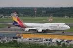 MOHICANさんが、成田国際空港で撮影したアシアナ航空 747-48EMの航空フォト(写真)