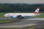 MOHICANさんが、成田国際空港で撮影したオーストリア航空 777-2Z9/ERの航空フォト(写真)
