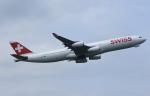 MOHICANさんが、成田国際空港で撮影したスイスインターナショナルエアラインズ A340-313Xの航空フォト(写真)