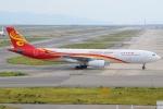 JA8961RJOOさんが、関西国際空港で撮影した香港航空 A330-343Xの航空フォト(写真)