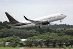 NRT_roseさんが、成田国際空港で撮影したプリヴァジェット 737-7BC BBJの航空フォト(写真)