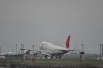 あっしーさんが、羽田空港で撮影した日本航空 747-446Dの航空フォト(写真)