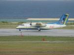 toyokoさんが、那覇空港で撮影した琉球エアーコミューター DHC-8-103Q Dash 8の航空フォト(写真)