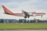 デルタおA330さんが、横田基地で撮影したカリッタ エア 747-481F/SCDの航空フォト(写真)