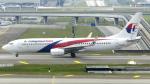 誘喜さんが、クアラルンプール国際空港で撮影したマレーシア航空 737-8FZの航空フォト(写真)
