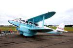 まいけるさんが、ファンボロー空港で撮影したイギリス個人所有 DH.89A Dragon Rapideの航空フォト(写真)