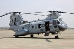 Koenig117さんが、厚木飛行場で撮影したアメリカ海兵隊 CH-46Eの航空フォト(写真)