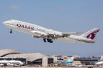 ロサンゼルス国際空港 - Los Angeles International Airport [LAX/KLAX]で撮影されたカタールアミリフライト - Qatar Amiri Flight [QAF]の航空機写真