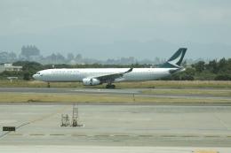ふくそうじさんが、台湾桃園国際空港で撮影したキャセイパシフィック航空 A330-343Xの航空フォト(写真)