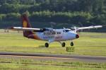 hidetsuguさんが、新千歳空港で撮影した徳安航空 DHC-6 Twin Otterの航空フォト(写真)