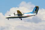Koenig117さんが、那覇空港で撮影した琉球エアーコミューター DHC-8-103Q Dash 8の航空フォト(写真)