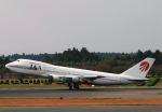 にしやんさんが、成田国際空港で撮影した日本アジア航空 747-246Bの航空フォト(写真)