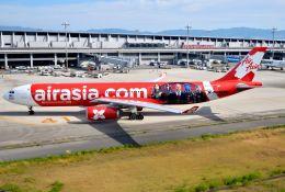 orbis001さんが、関西国際空港で撮影したエアアジア・エックス A330-343Eの航空フォト(写真)