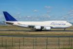 pinamaさんが、フランクフルト国際空港で撮影したエアブリッジ・カーゴ・エアラインズ 747-481(BCF)の航空フォト(写真)