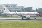 Wings Flapさんが、岡山空港で撮影した中国東方航空 A319-115の航空フォト(写真)