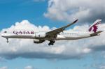 pinamaさんが、フランクフルト国際空港で撮影したカタール航空 A350-941XWBの航空フォト(写真)