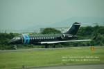かみきりむしさんが、名古屋飛行場で撮影したアメリカ企業所有 BD-700 Global Express/5000/6000の航空フォト(写真)
