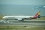 かみきりむしさんが、中部国際空港で撮影したアシアナ航空 A321-231の航空フォト(写真)