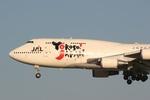 肉食獣さんが、成田国際空港で撮影した日本航空 747-446の航空フォト(写真)