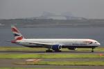 こだしさんが、羽田空港で撮影したブリティッシュ・エアウェイズ 777-336/ERの航空フォト(写真)