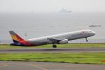 こだしさんが、羽田空港で撮影したアシアナ航空 A321-231の航空フォト(写真)