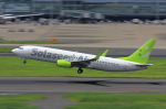 こだしさんが、羽田空港で撮影したソラシド エア 737-86Nの航空フォト(写真)