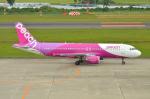 リコッタさんが、仙台空港で撮影したピーチ A320-214の航空フォト(写真)