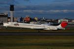 いもや太郎さんが、伊丹空港で撮影した日本航空 MD-81 (DC-9-81)の航空フォト(写真)