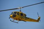 ヘリオスさんが、東京ヘリポートで撮影したアカギヘリコプター 204B-2(FujiBell)の航空フォト(写真)