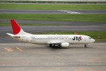 もぐ3さんが、羽田空港で撮影した日本トランスオーシャン航空 737-4K5の航空フォト(写真)