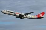 Wings Flapさんが、小松空港で撮影したカーゴルクス 747-8R7F/SCDの航空フォト(写真)