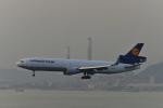 あにいさんが、香港国際空港で撮影したルフトハンザ・カーゴ MD-11Fの航空フォト(写真)
