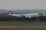 クルーズさんが、新千歳空港で撮影したキャセイパシフィック航空 747-467の航空フォト(写真)