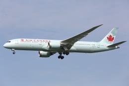 安芸あすかさんが、成田国際空港で撮影したエア・カナダ 787-9の航空フォト(写真)