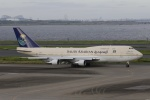 宮崎 育男さんが、羽田空港で撮影したサウジアラビア王国政府 747-3G1の航空フォト(写真)