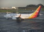 職業旅人さんが、オークランド空港で撮影したエア・パシフィック 737-7X2の航空フォト(写真)
