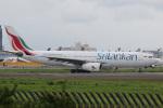 チャッピー・シミズさんが、成田国際空港で撮影したスリランカ航空 A330-243の航空フォト(写真)