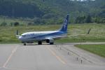 くーぺいさんが、紋別空港で撮影した全日空 737-881の航空フォト(写真)